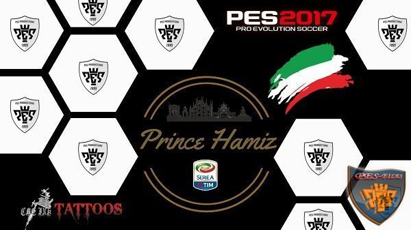 Tattoo PES 2017 By Prince Hamiz