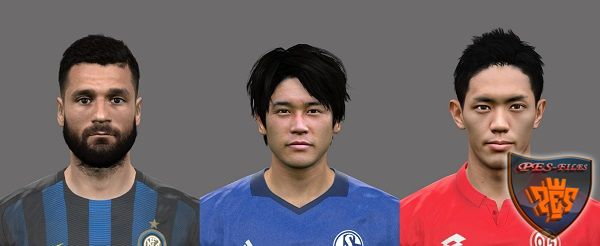 PES 2017 Updated Faces 1 by AMussoullini