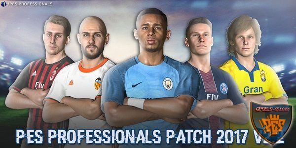 PES 2017 Pes Professionals Patch 2017 V2.2