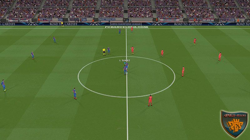 Pes 2017 Adboards UCL Road To Cardiff