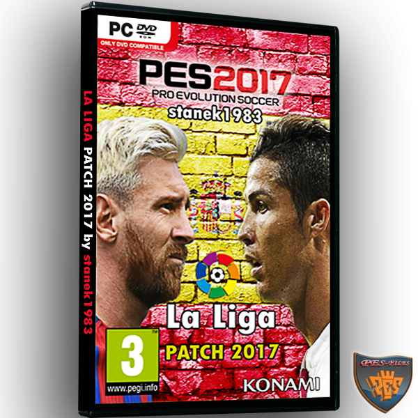 LaLiga Patch 4.00 PES2017 by stanek1983