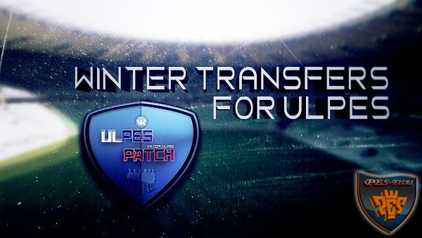 PES 2017 Winter Transfers for ULPES + Face DLC 3