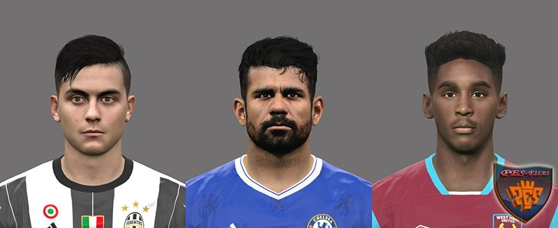 PES2017 Updated Faces 2 by A.Mussoullini