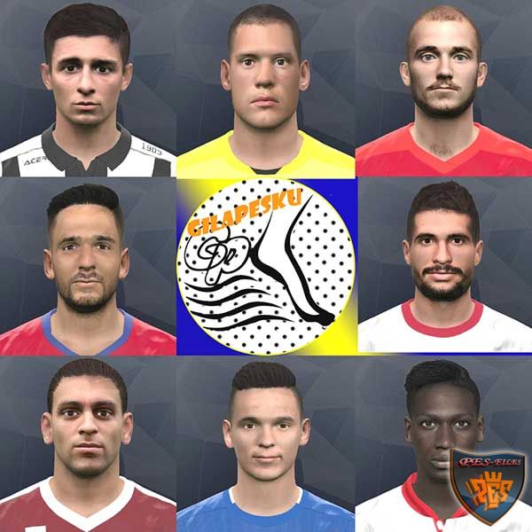PES 2017 Facepack Februari (Week3)