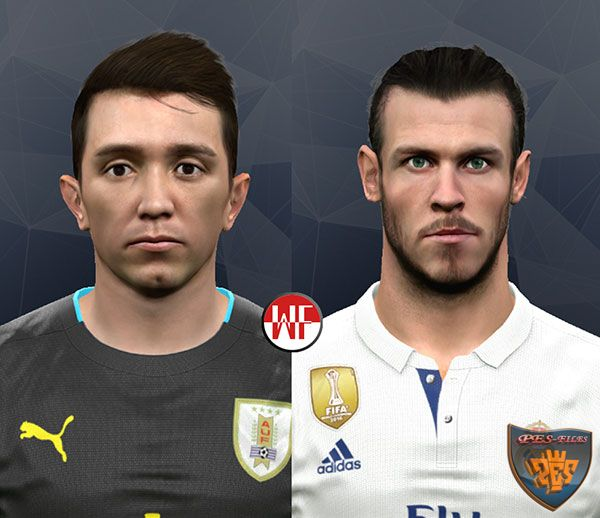 Pes 2017 Muslera and Bale by WER Facemaker