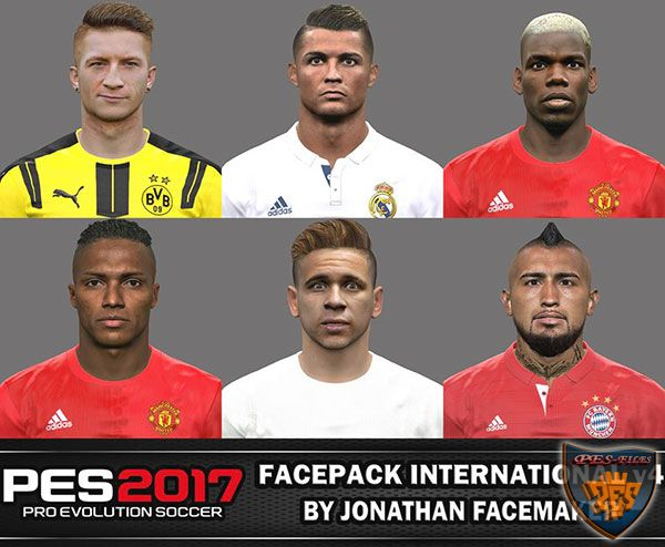 Pes 2017 Facepack International v4