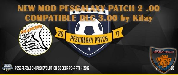 PES 2017 Mod 14.2 For PES Galaxy Patch 2.0 by kilay