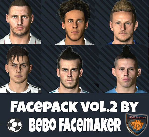 Pes 2017 Face Pack Vol.2 by Bono Facemaker