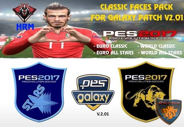 PES 2017 Classic Face Pack for Galaxy Patch v2.01 by hrm