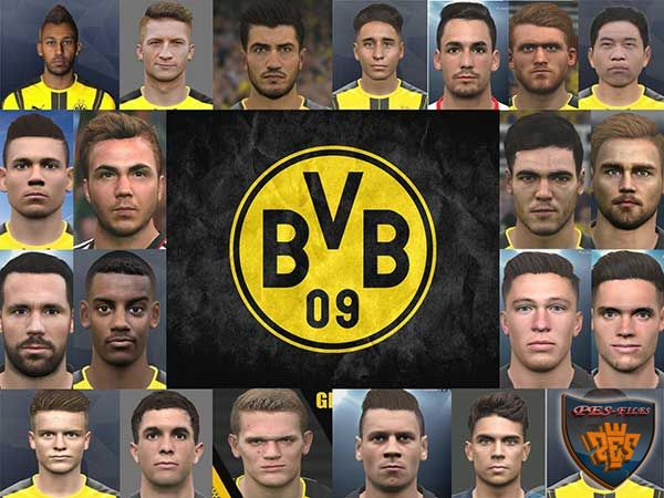PES 2017 Borussia Dortmund Mega FacePack Re-Packed