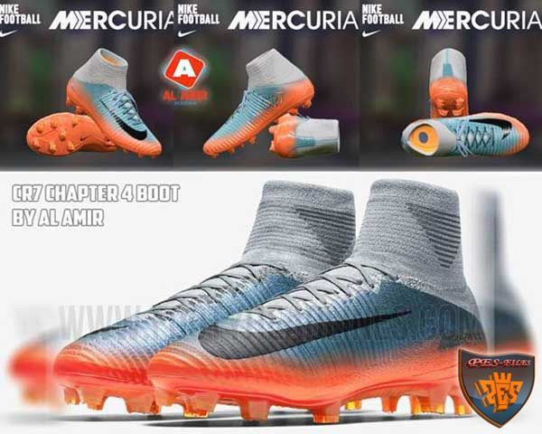 PES 2017 Boot Nike Mercurial CR7 Chapter 4