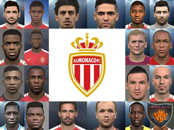 PES 2017 AS Monaco Mega Face Pack Re-Pack