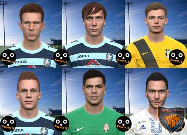 PES 2017 UPL FacePack vol.2 by Znovik_S