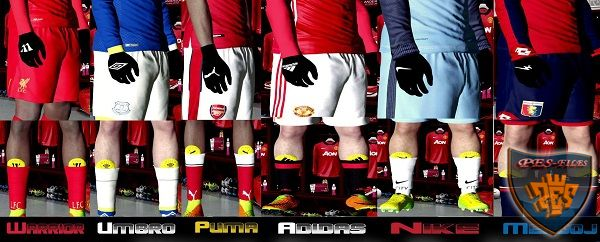 PES 2017 Glove and Shin Guard Pack by ‎Ade Vodkha