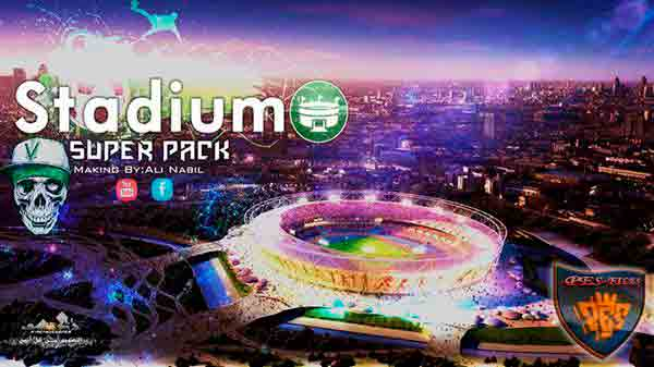 PES 2017 Stadium Super Pack BY Ali Nabil