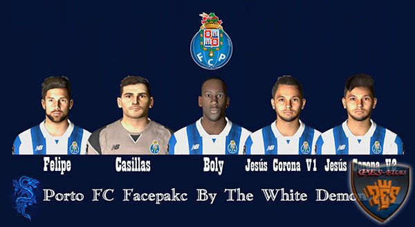 Pes 2017 Porto Fc Facepack By The White Demon