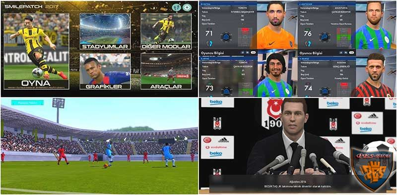 PES 2017 SmileModding Patch 1.00