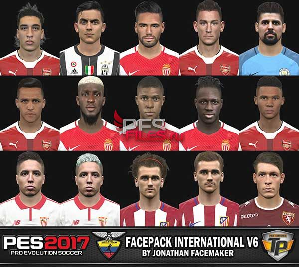 PES 2017 Facepack International v6