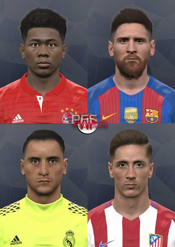 Pes 2017 April Special Facepack