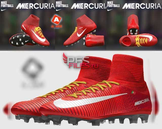 PES 2017 Nike Mercurial Superfly Red Boot
