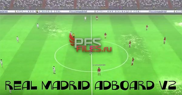 Pes 2017 Real Madrid Animation Adboard V2 Official