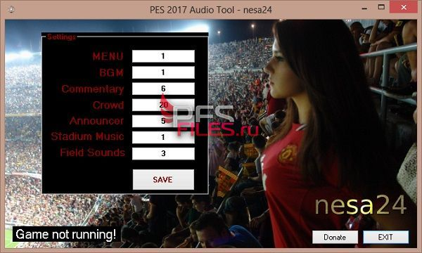 PES2017 Audio Tool v1 By nesa24
