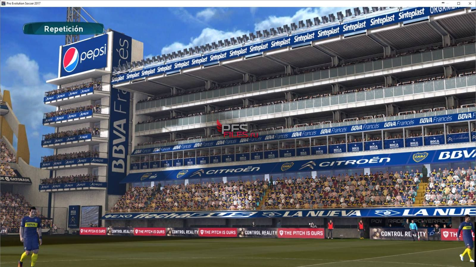 PES 2017 Estadio la Bombonera by BlackBull