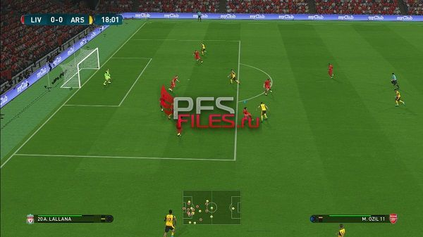 PES 2018 Pitch for BlackBull Anfield Stadium