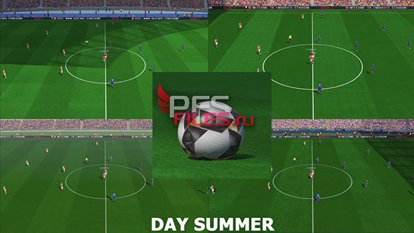 Pes 2017 New Pitch HD Final