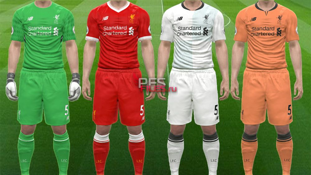 New Balance Liverpool 17/18 Kits