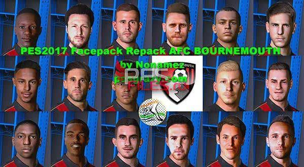 Pes 2017 Facepack Repack AFC bournemouth