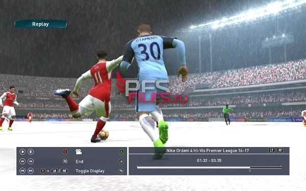 PES 2017 Snow Switcher Module v.1.0 for Sider