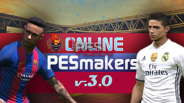 Online PESmakers patch v.3.0
