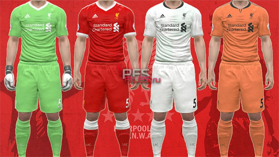 New Liverpool 17/18 Kits Adidas Style by Egor_7