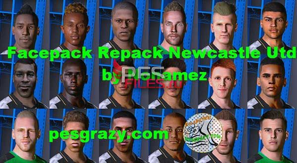 Pes 2017 Newcastle Facepack by Nonamez