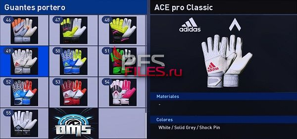 PES 2018 GlovePack 2017-2018 by Jeankaeswin