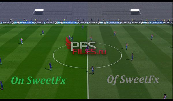 New SweetFx Pes 2017