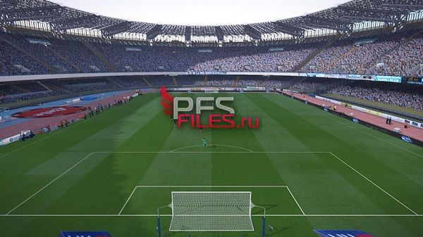PES 2017 San Paolo Napoli Stadium Repacked by kilay