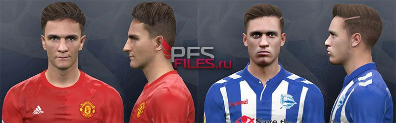 Pes 2017 Llorente and Josh Harrop face