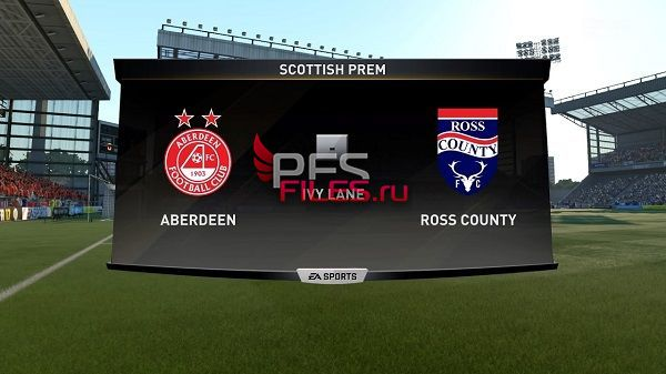 PES 2017 Pittodrie Stadium by Orsest