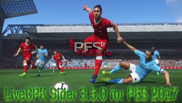 LiveCPK Sider 3.5.0 for PES 2017 by juce