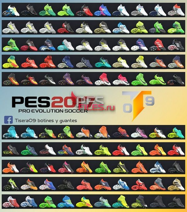 PES 2017 New Bootpack 100 by Tisera09
