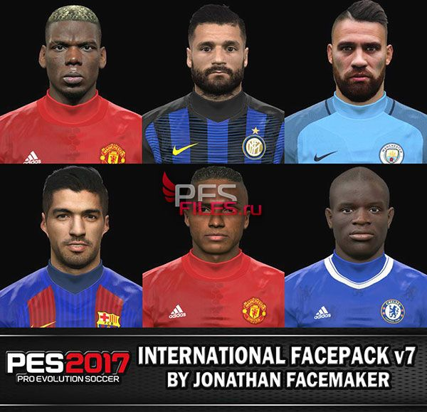 PES 2017 Facepack International v7