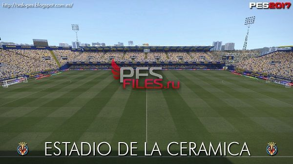 PES 2017 Estadio de la Ceramica FIX 12.06.17