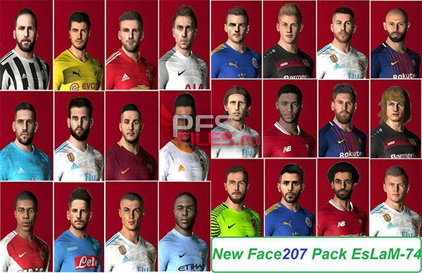 Pes 2017 new Facepack Reupload