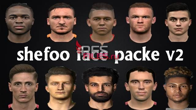 PES 2017 Shefoo Face Pack V2