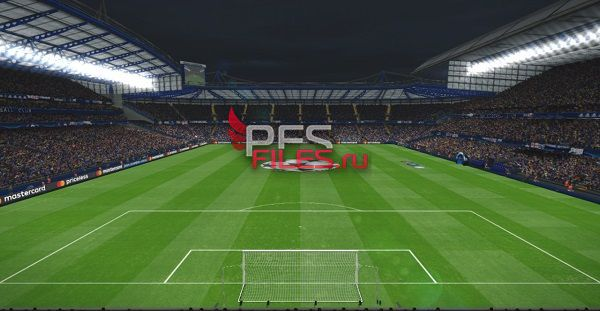 PES 2017 Stamford Bridge Stadium & Tunnel by S.Elafify