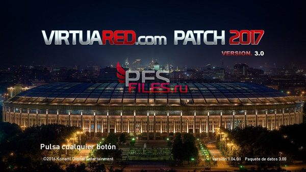 PES 2017 VirtuaRED v3.0 Patch 2017 AIO