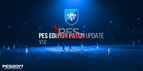 PES 2017 Edition Patch 2017 UPDATE 1.0