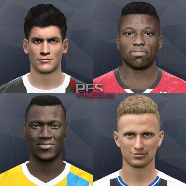 Pes 2017 Face by Andrey_Pol & GONDURAS2012